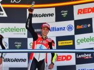 Héctor Yebra sube al podio en Jerez y se mantiene tercero en la general